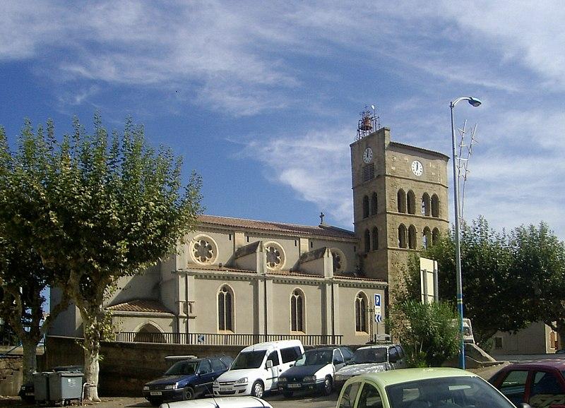 Photo du Monument Historique Eglise paroissiale Notre-Dame de la Rominguère situé à Coursan