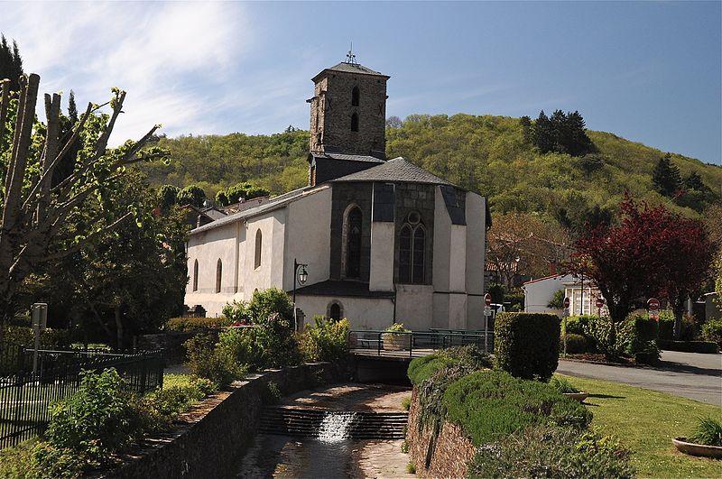 Photo du Monument Historique Eglise Sainte-Cécile situé à Cuxac-Cabardès
