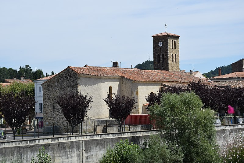 Photo du Monument Historique Eglise Saint-Michel situé à Espéraza