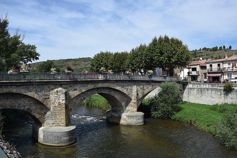 Photo du Monument Historique Pont situé à Espéraza