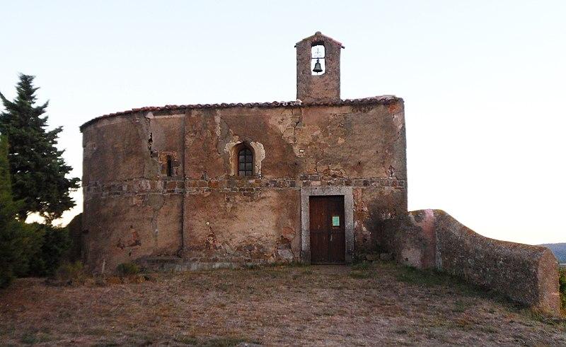 Photo du Monument Historique Eglise Saint-Etienne de Villerouge-la-Crémade situé à Fabrezan