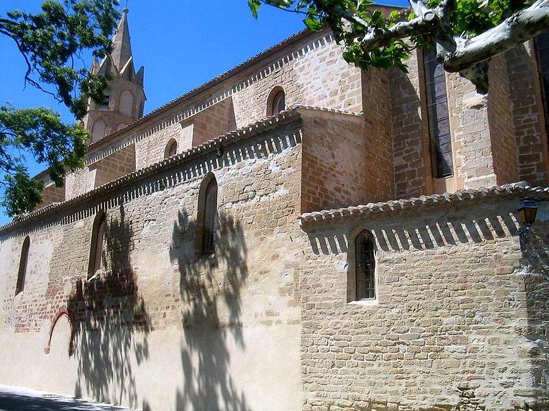 Photo du Monument Historique Eglise Notre-Dame de l'Assomption situé à Fanjeaux