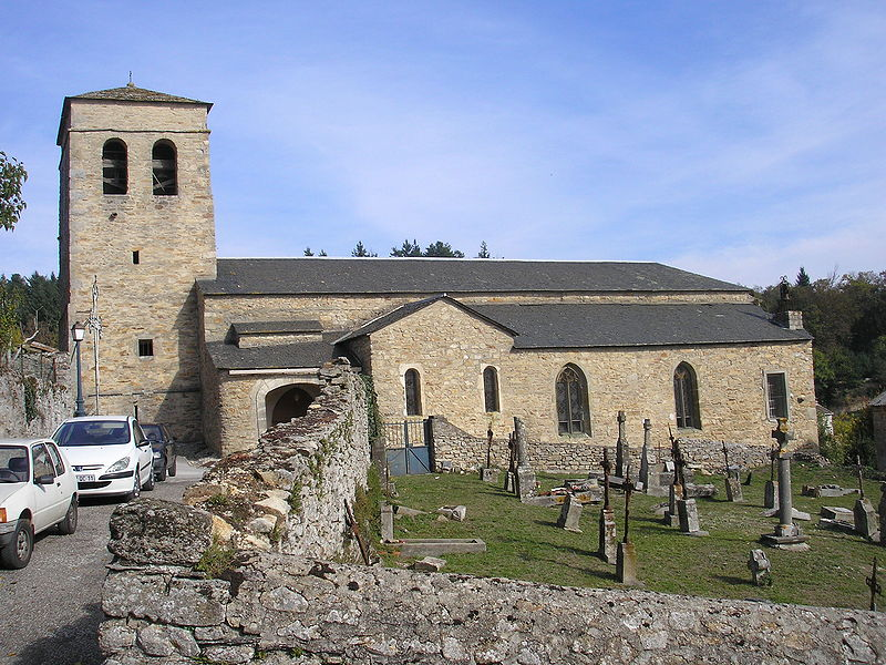 Photo du Monument Historique Eglise Saint-Clément situé à Fontiers-Cabardès