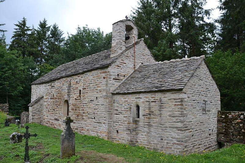 Photo du Monument Historique Ancienne église Saint-Sernin de Cupserviès situé à Labastide-Esparbairenque
