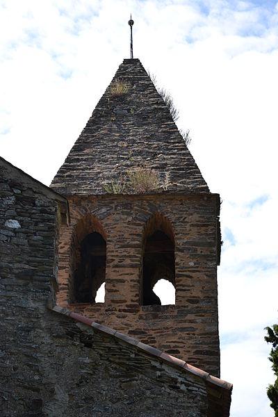 Photo du Monument Historique Eglise Saint-André situé à Labastide-Esparbairenque