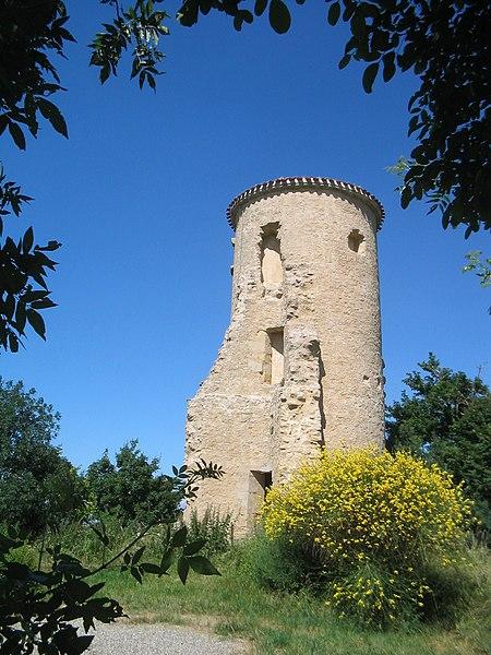 Photo du Monument Historique Ancien château situé à Lafage