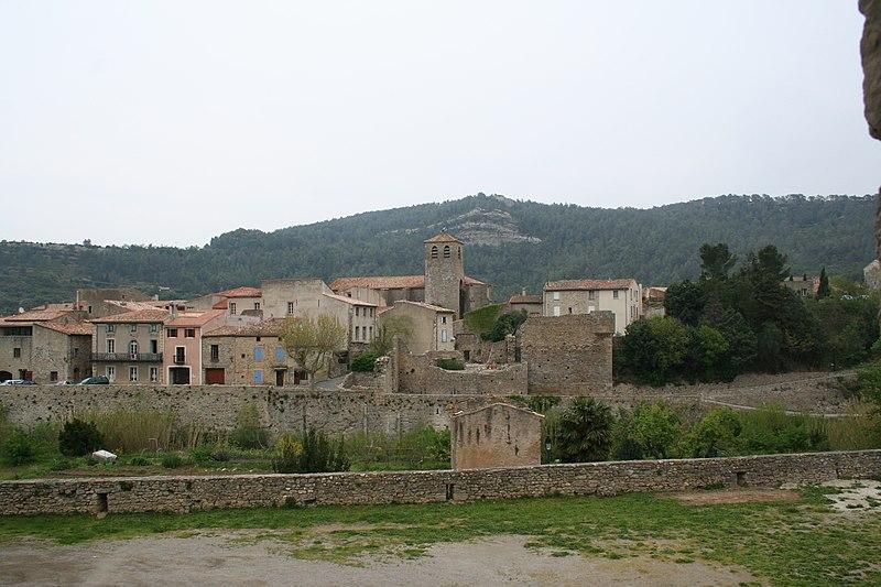 Photo du Monument Historique Eglise paroissiale Saint-Michel situé à Lagrasse