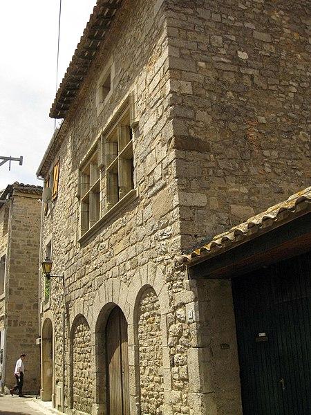 Photo du Monument Historique Maison situé à Lagrasse