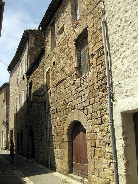 Photo du Monument Historique Maison Castel situé à Lagrasse