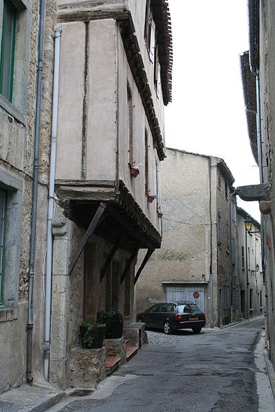 Photo du Monument Historique Maison Lautier situé à Lagrasse