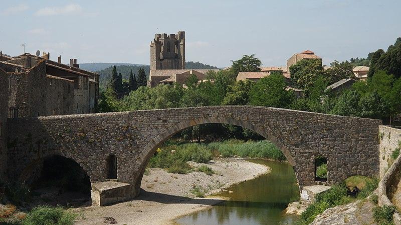 Photo du Monument Historique Pont de l'Alsou situé à Lagrasse