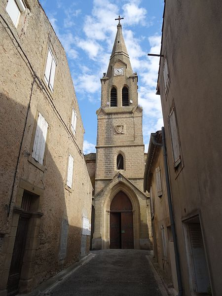 Photo du Monument Historique Eglise Saint-Christophe situé à Lasbordes