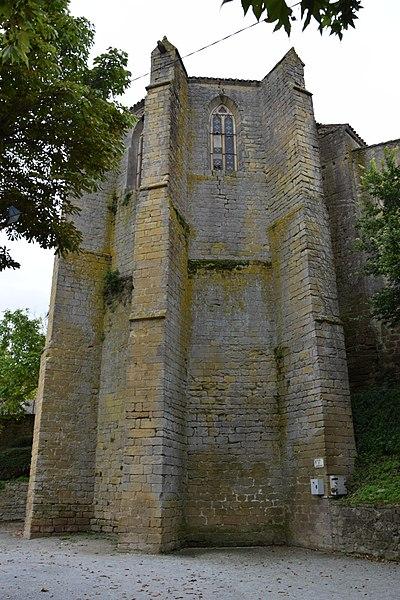 Photo du Monument Historique Eglise paroissiale Saint-Jean-Baptiste situé à Mireval-Lauragais