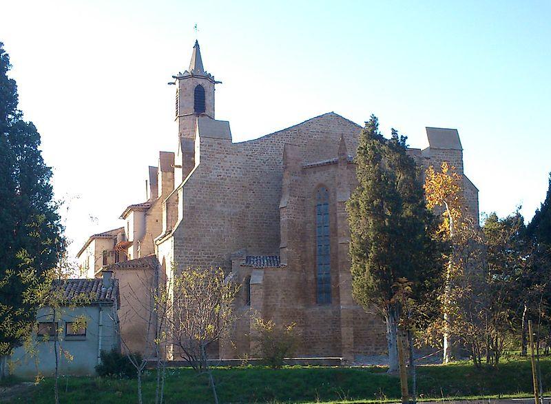 Photo du Monument Historique Eglise Notre-Dame-de-Marceille situé à Limoux