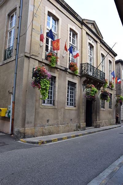 Photo du Monument Historique Hôtel de ville situé à Limoux