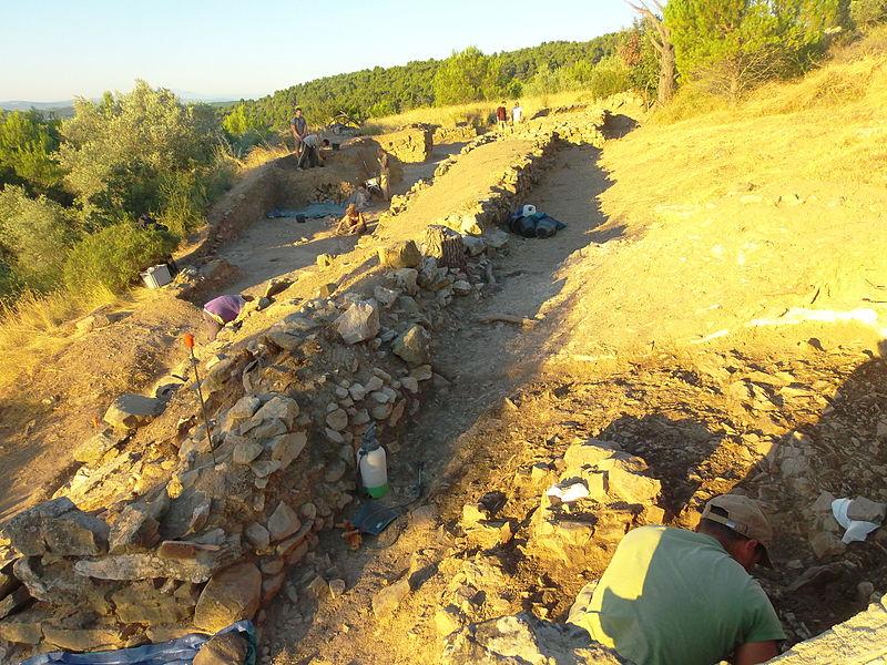 Photo du Monument Historique Vestiges de l'oppidum de Cayla situé à Mailhac