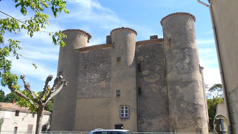 Photo du Monument Historique Château situé à Malves-en-Minervois