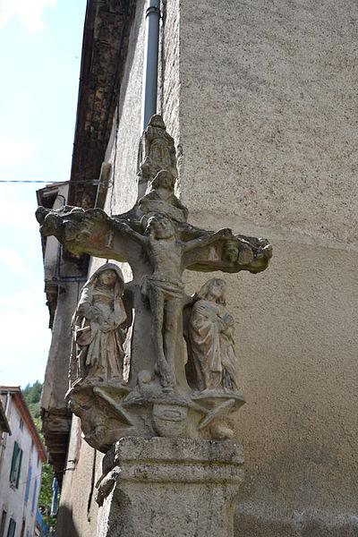 Photo du Monument Historique Croix en pierre situé à Mas-Cabardès