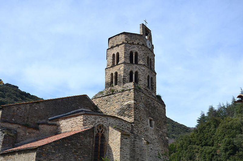 Photo du Monument Historique Eglise Saint-Etienne situé à Mas-Cabardès