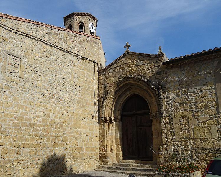 Photo du Monument Historique Eglise Saintes-Puelles situé à Mas-Saintes-Puelles