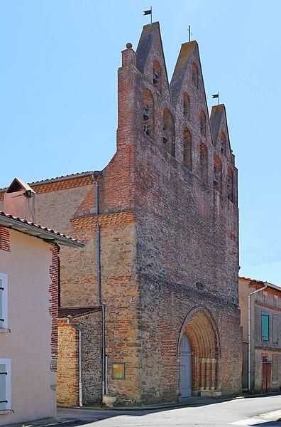 Photo du Monument Historique Eglise paroissiale de l'Assomption de la Sainte-Vierge situé à Molandier