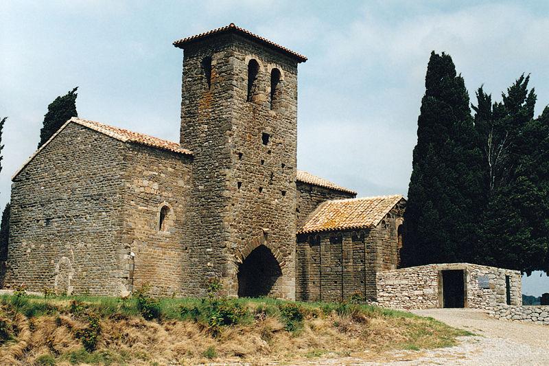 Photo du Monument Historique Chapelle Notre-Dame-de-Colombier situé à Montbrun-des-Corbières