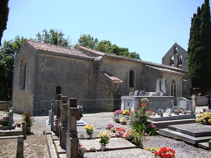 Photo du Monument Historique Eglise de Saint-Pierre-d'Alzonne situé à Montferrand