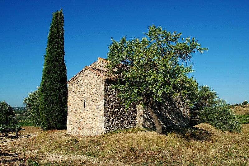 Photo du Monument Historique Restes de la chapelle Saint-Laurent situé à Moussan