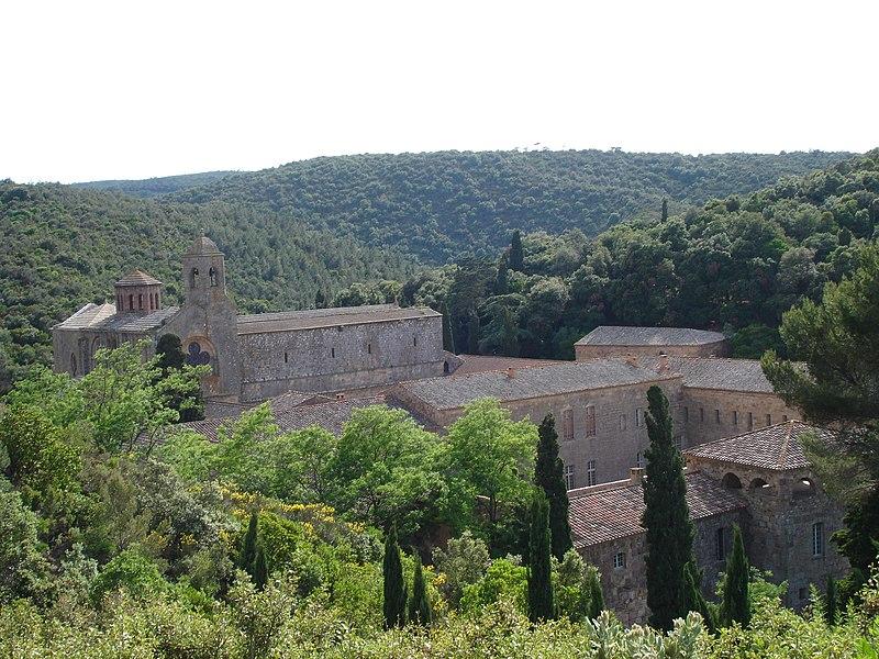Photo du Monument Historique Abbaye de Fontfroide situé à Narbonne