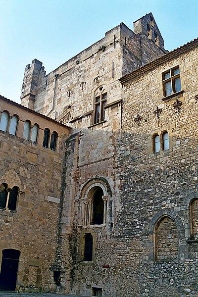 Photo du Monument Historique Ancien archevêché et ses abords situé à Narbonne