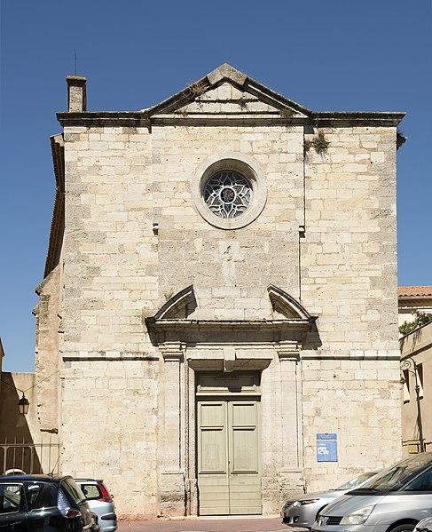 Photo du Monument Historique Chapelle des Pénitents-Bleus situé à Narbonne