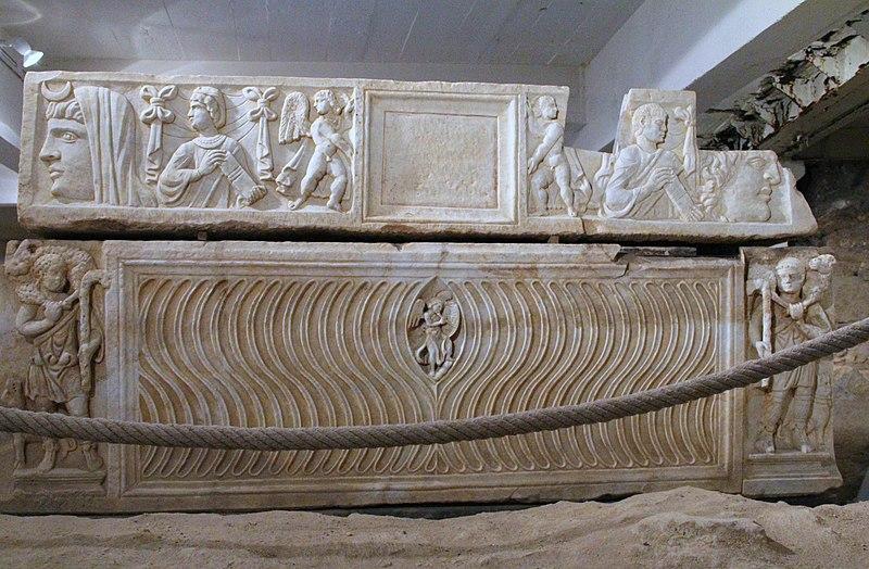 Photo du Monument Historique Cimetière païen et paléochrétien de Saint-Loup situé à Narbonne