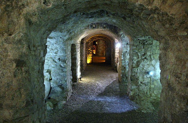 """Photo du Monument Historique Edifice romain dit """"Horreum"""" situé à Narbonne"""