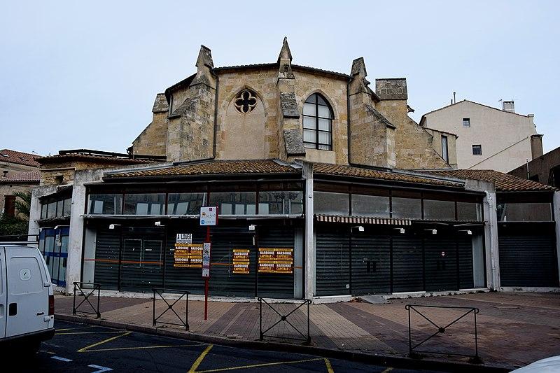 Photo du Monument Historique Ancienne église des Jacobins situé à Narbonne