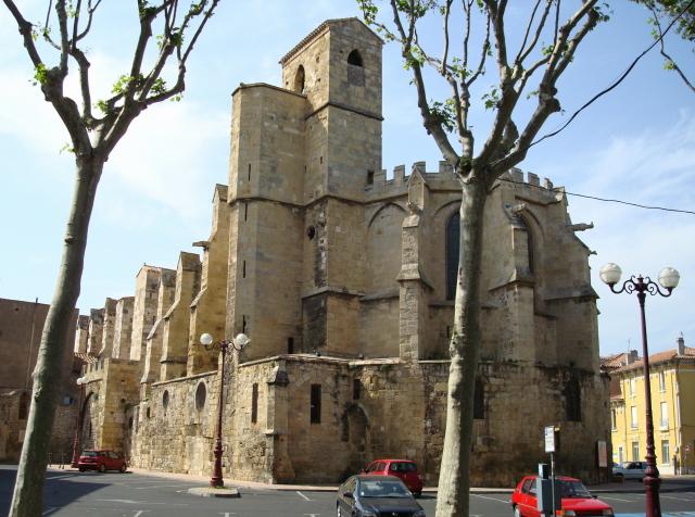 Photo du Monument Historique Ancienne église Notre-Dame du Bourg de Lamourgnié situé à Narbonne