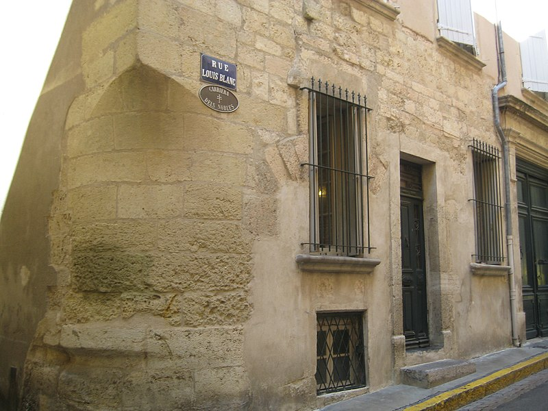 Photo du Monument Historique Ancien hôtel Benavent situé à Narbonne