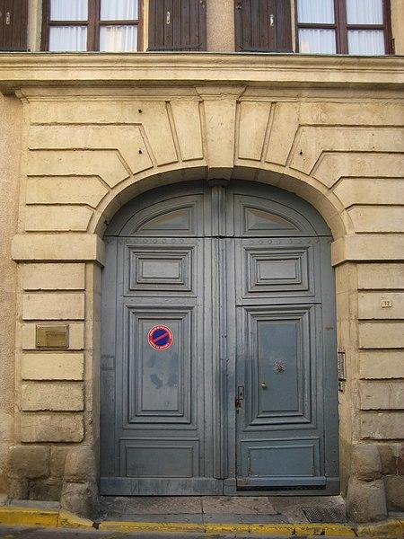 Photo du Monument Historique Hôtel de la Brigade situé à Narbonne