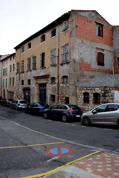 Photo du Monument Historique Immeuble situé à Narbonne