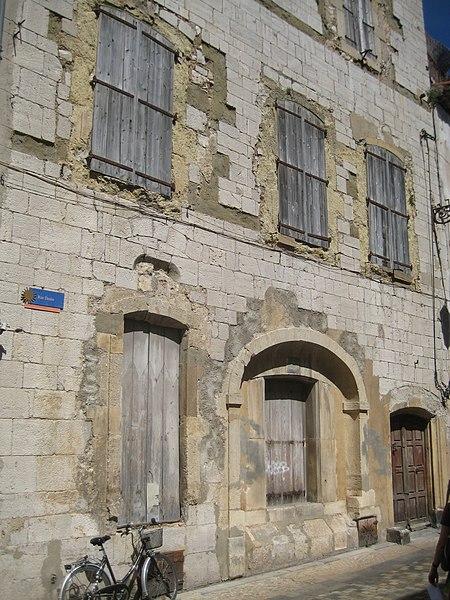 Photo du Monument Historique Maison dite de la Mothe situé à Narbonne