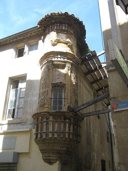 Photo du Monument Historique Tourelle d'angle situé à Narbonne