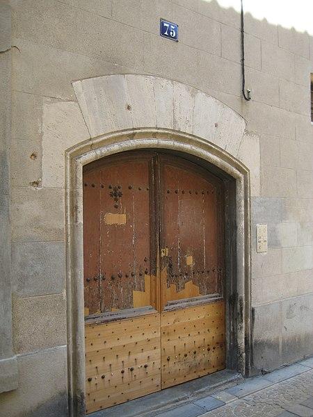 Photo du Monument Historique Maison romane situé à Narbonne