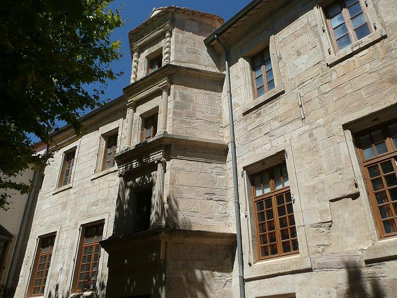 Photo du Monument Historique Ancien hôtel de l'Archidiacre situé à Narbonne