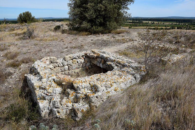 Photo du Monument Historique Oppidum de Montlaurès situé à Narbonne