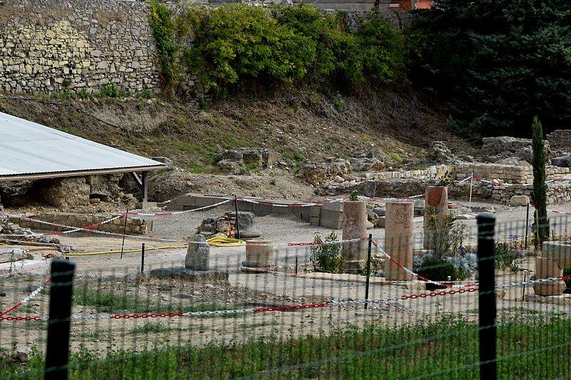 Photo du Monument Historique Vestiges archéologiques d'époque gallo-romaine situé à Narbonne
