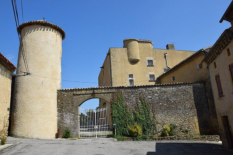 Photo du Monument Historique Château situé à Payra-sur-l'Hers