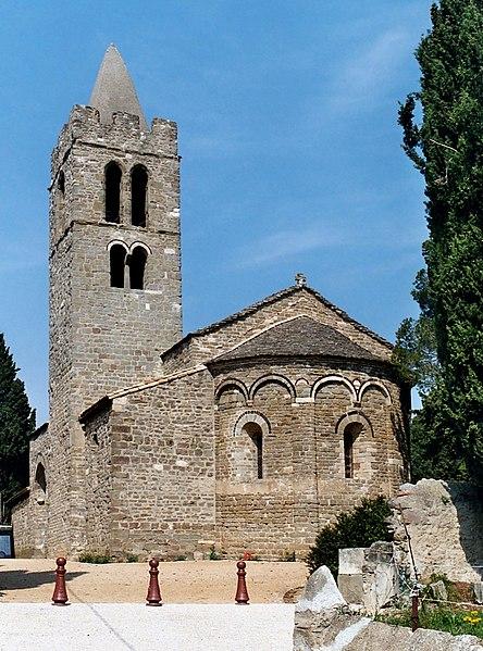 Photo du Monument Historique Eglise Saint-Sernin situé à Pouzols-Minervois