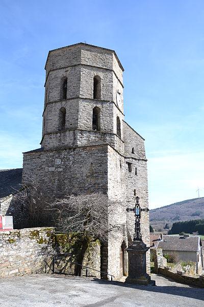 Photo du Monument Historique Eglise Saint-Jean-Baptiste situé à Pradelles-Cabardès