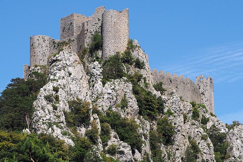 Photo du Monument Historique Ruines du château situé à Puilaurens