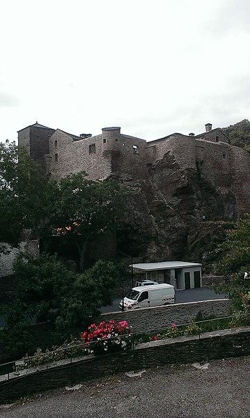 Photo du Monument Historique Château situé à Roquefère