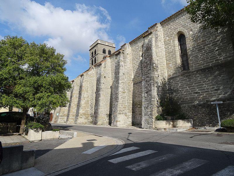 Photo du Monument Historique Eglise situé à Saint-Martin-Lalande